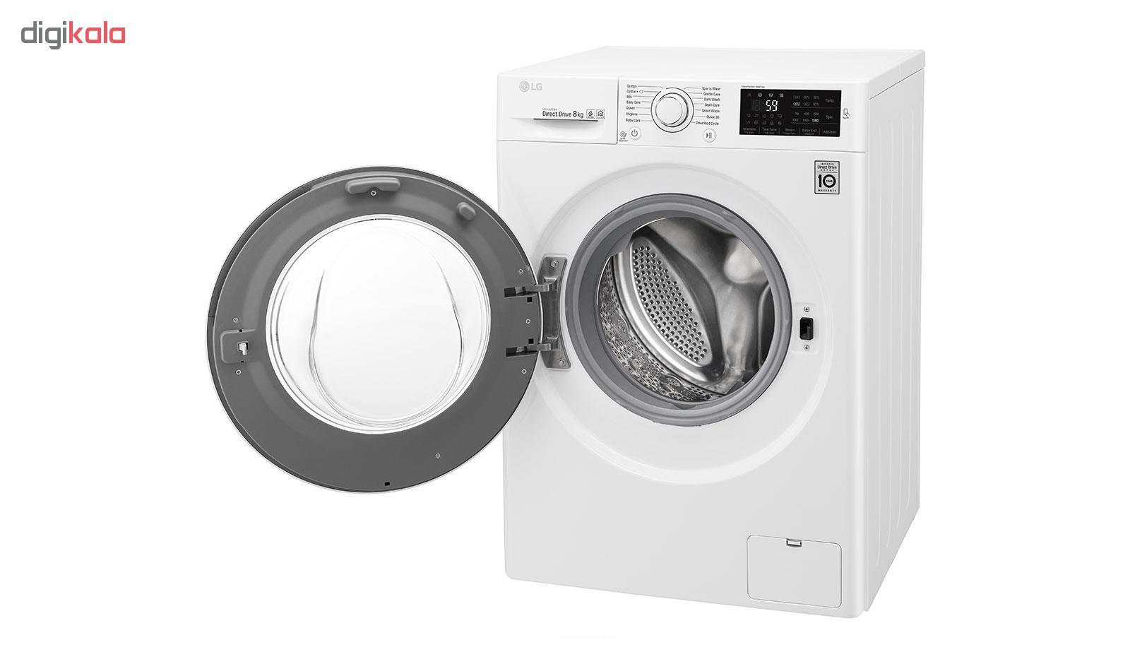 ماشین لباسشویی ال جی مدل WM-821NW ظرفیت 8 کیلوگرم main 1 8