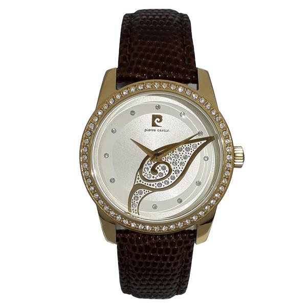 ساعت مچی عقربه ای زنانه پیر کاردین مدل PC106172F15