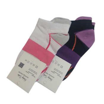 جوراب زنانه هدیه کد ۰۰۲۲۴-۰۱۰۴ بسته 2 عددی