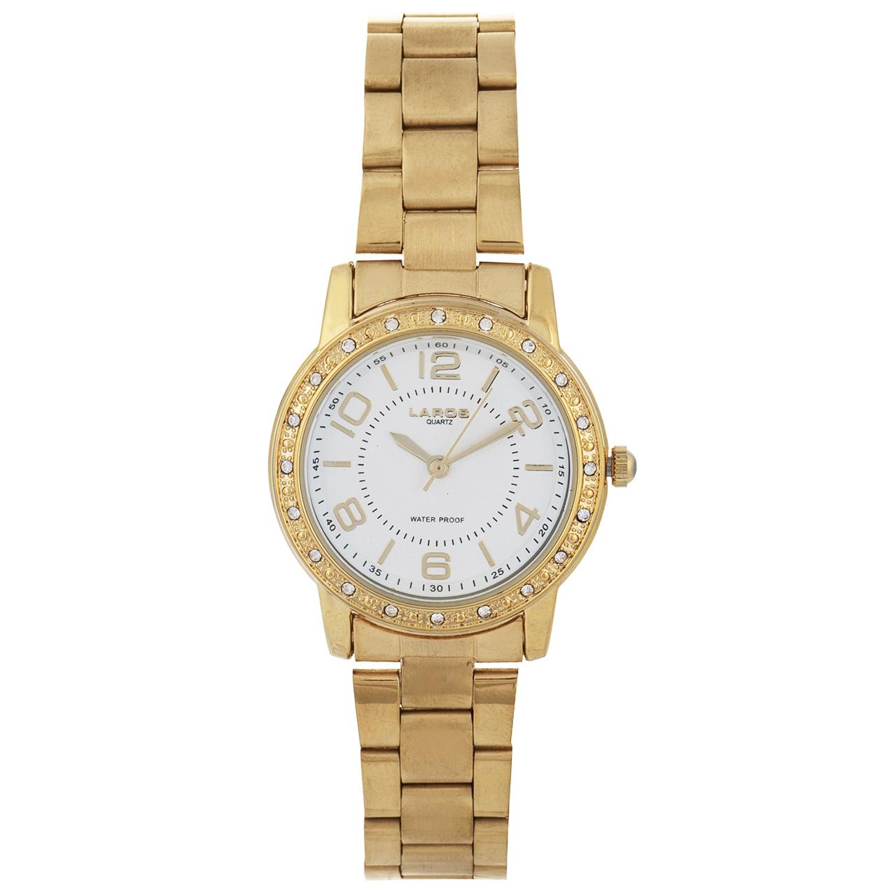 خرید ساعت مچی عقربه ای زنانه لاروس مدل 041779822