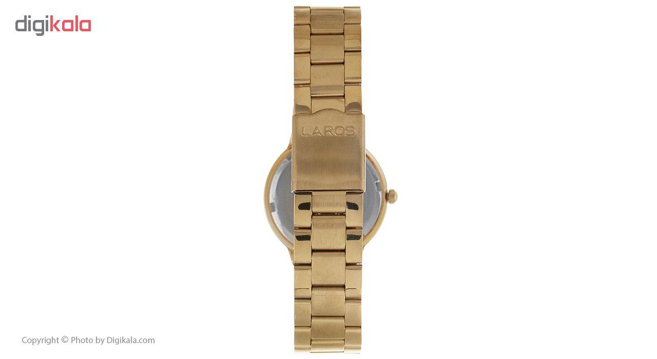 ساعت مچی عقربه ای زنانه لاروس مدل 081679893