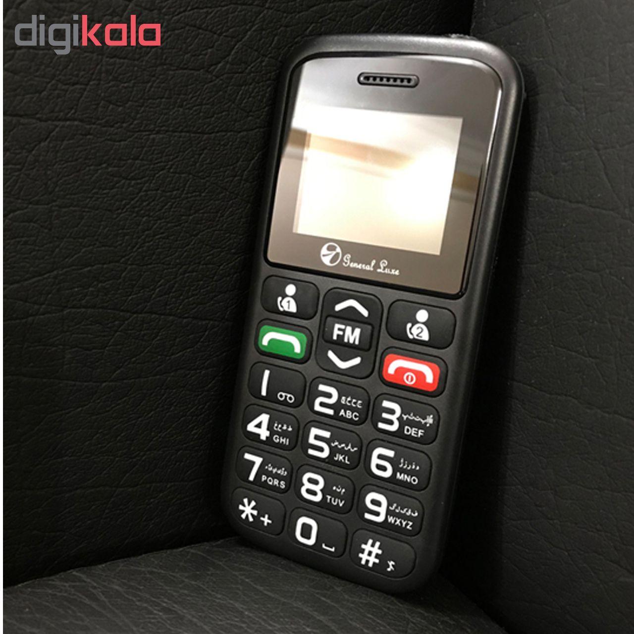 گوشی موبایل جی ال ایکس مدل General Luxe P3 دو سیم کارت main 1 7