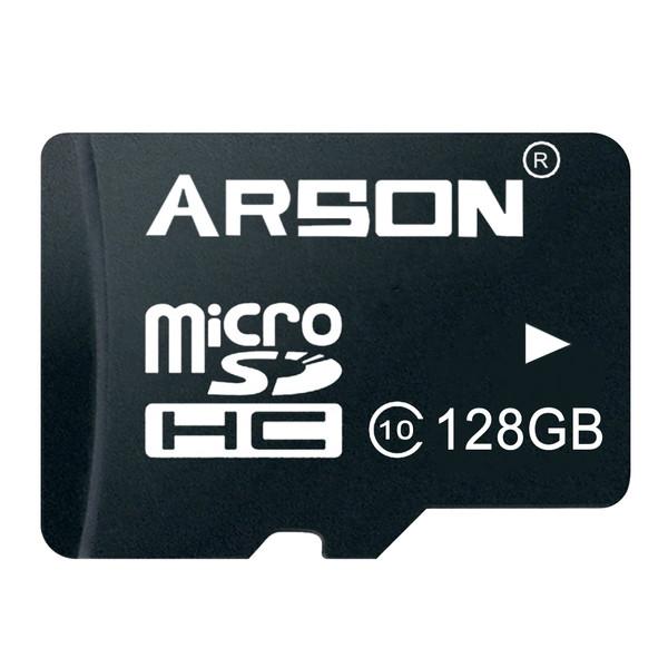 کارت حافظه microSDHC آرسون مدل AM-2128 کلاس 10 استاندارد U1 سرعت 80MBps ظرفیت 128 گیگابایت