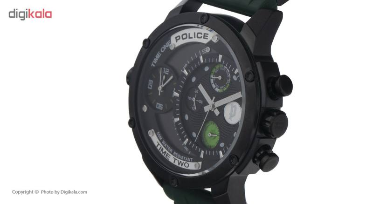 ساعت مچی عقربه ای مردانه پلیس مدل 14536J