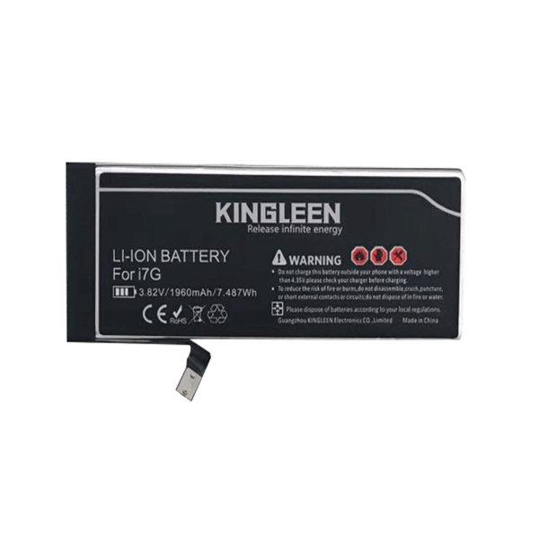 باتری موبایل کینگ لین مدل business ظرفیت 1960 میلی آمپر ساعت مناسب برای گوشی موبایل اپل آیفون7