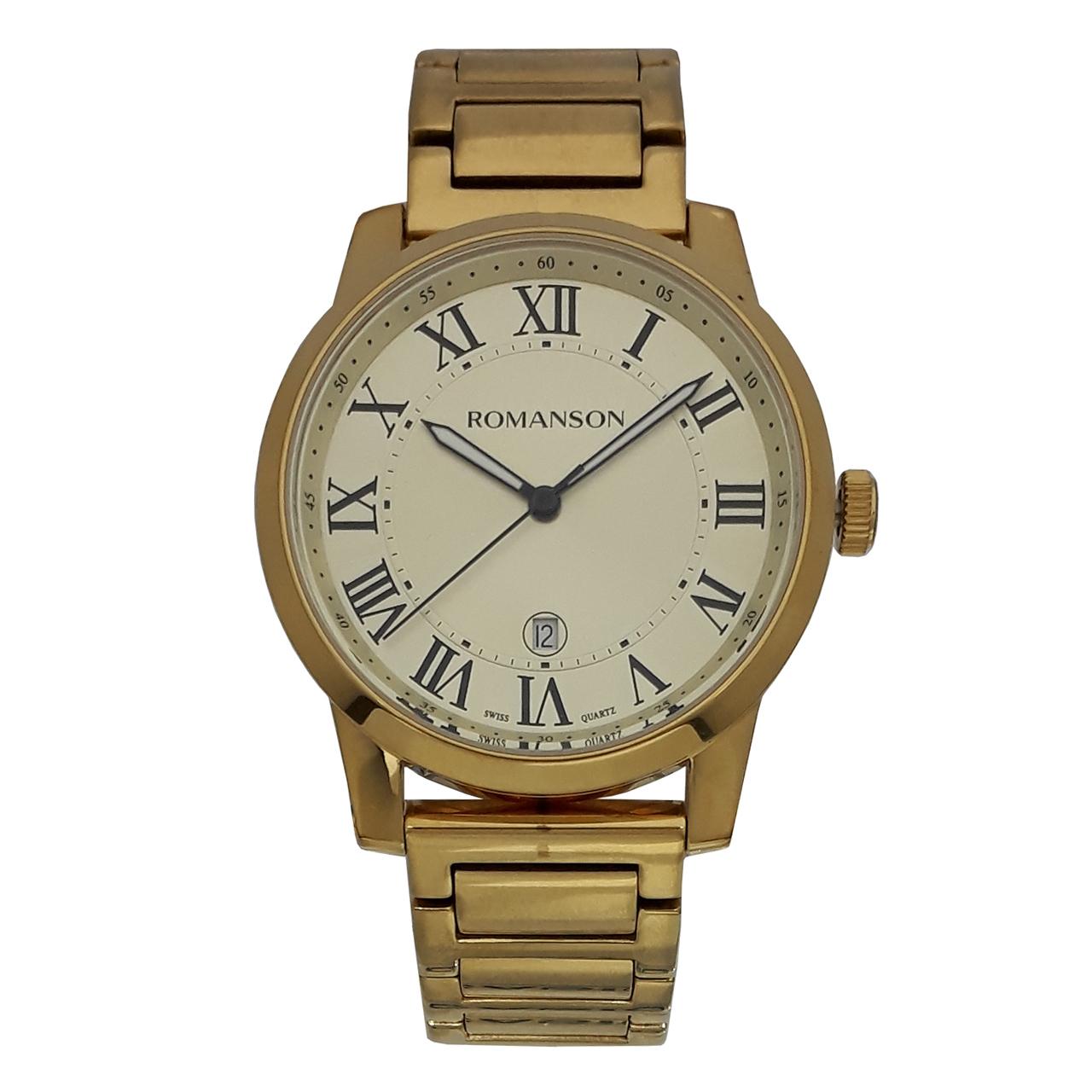 ساعت مچی عقربه ای مردانه رومانسون مدل TM0334MM