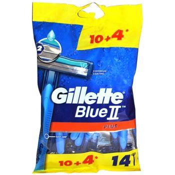 خود تراش ژیلت مدل Blue 2 Plus بسته 14 عددی