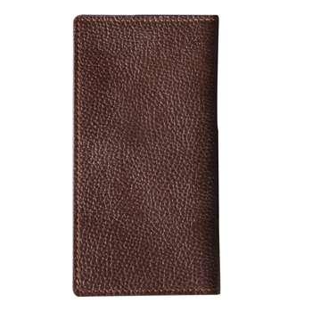 کیف پول مردانه مدل کتی چرم طبیعی راسا رنگ قهوه ای تک سایز