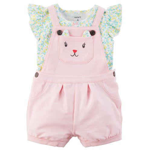 ست 2 تکه لباس نوزادی دخترانه کارترز مدل  883