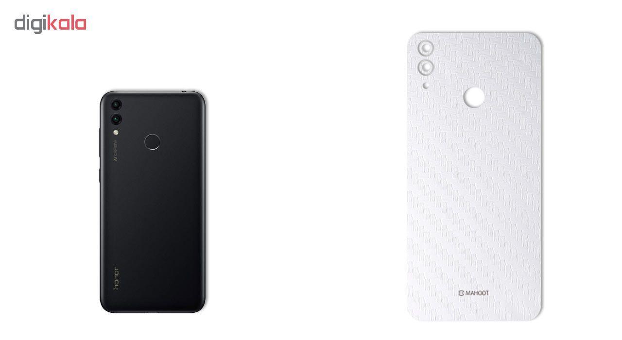 برچسب پوششی ماهوت طرح Carbon-Fiber مناسب برای گوشی موبایل هوآوی Honor 8C main 1 2