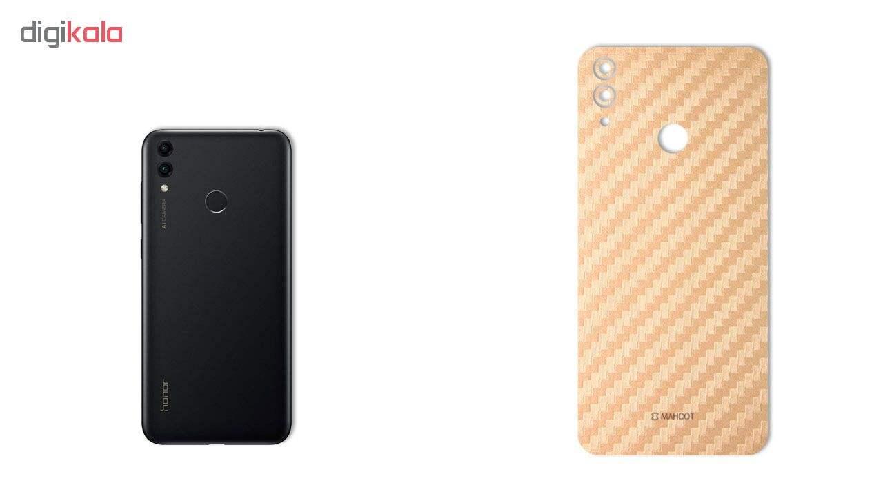 برچسب پوششی ماهوت طرح Carbon-Fiber مناسب برای گوشی موبایل هوآوی Honor 8C main 1 4