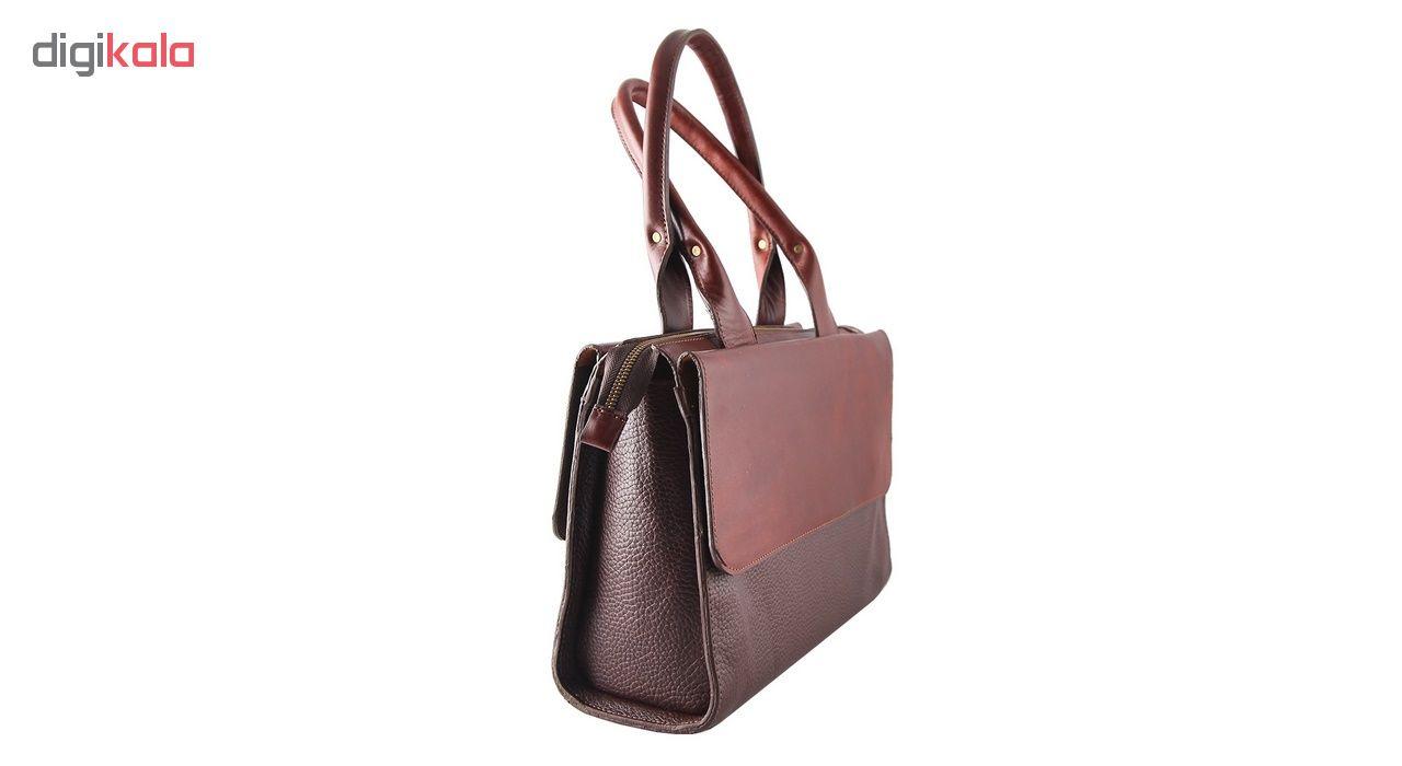 کیف دستی زنانه چیستا کد 89067 سایز L