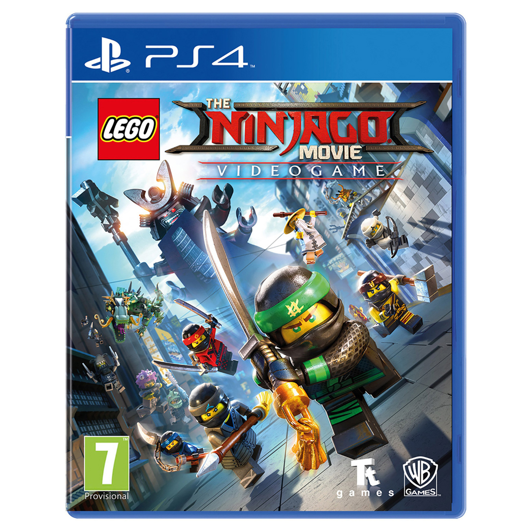 عکس بازی Lego The Ninjago Movie Video Game مخصوص PS4