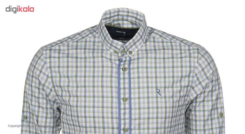 پیراهن مردانه رونی مدل 1133023019-43