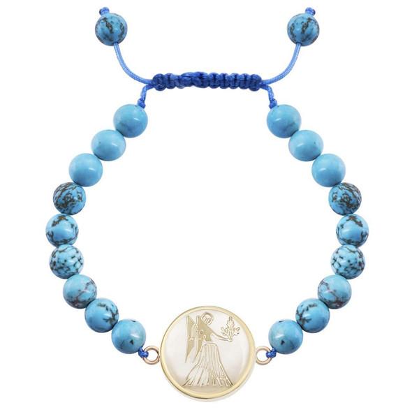 دستبند طلا 18 عیار مرجان مدل0714
