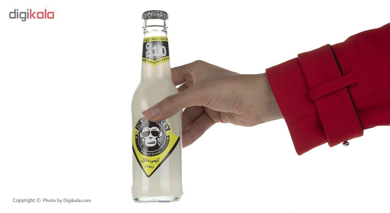 نوشابه گازدار با طعم لیموناد آیسی مانکی - 250 میلی لیتر main 1 1
