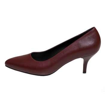 کفش پاشنه دار زنانه سی سی مدل سوفیا رنگ زرشکی |