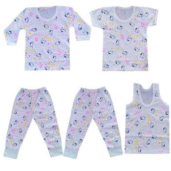 ست 5 تکه لباس نوزادی مدل 10_2 |