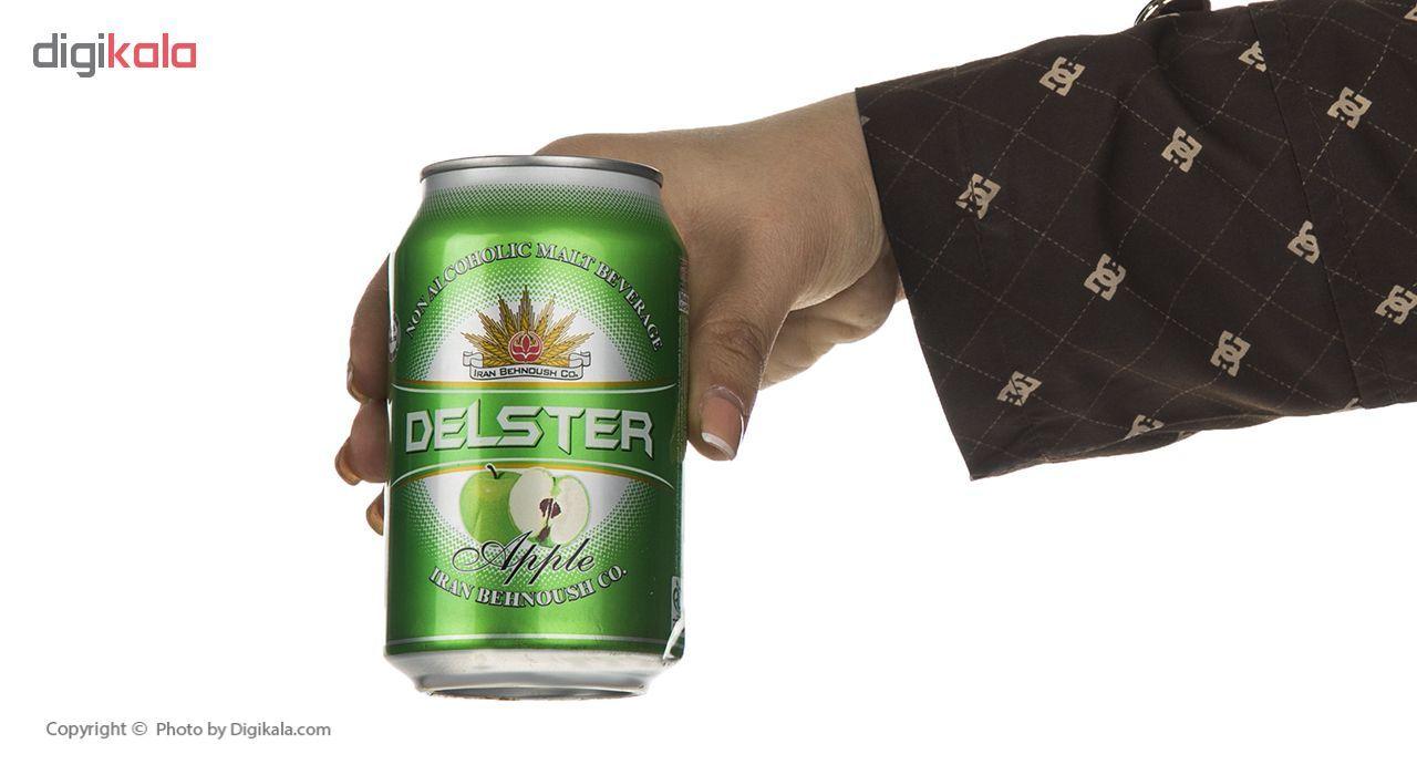 نوشیدنی مالت با طعم سیب دلستر - 330 میلی لیتر main 1 1
