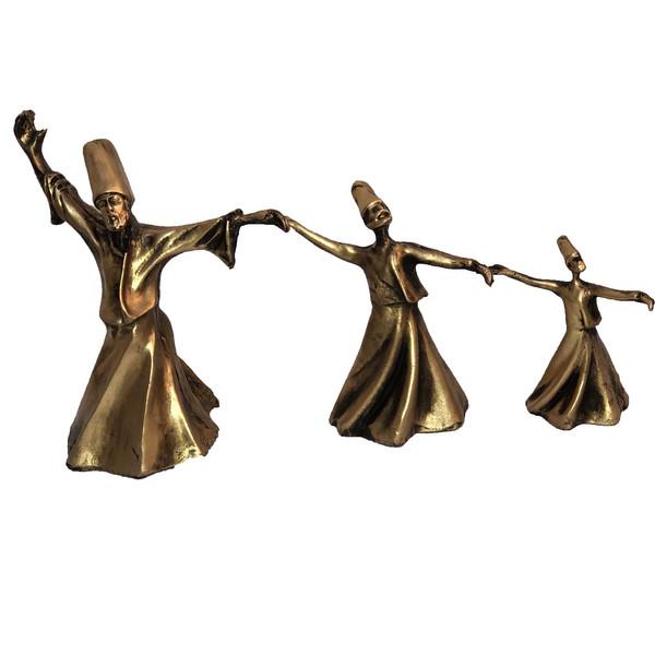 مجسمه طرح رقص سماء مجموعه 3 عددی