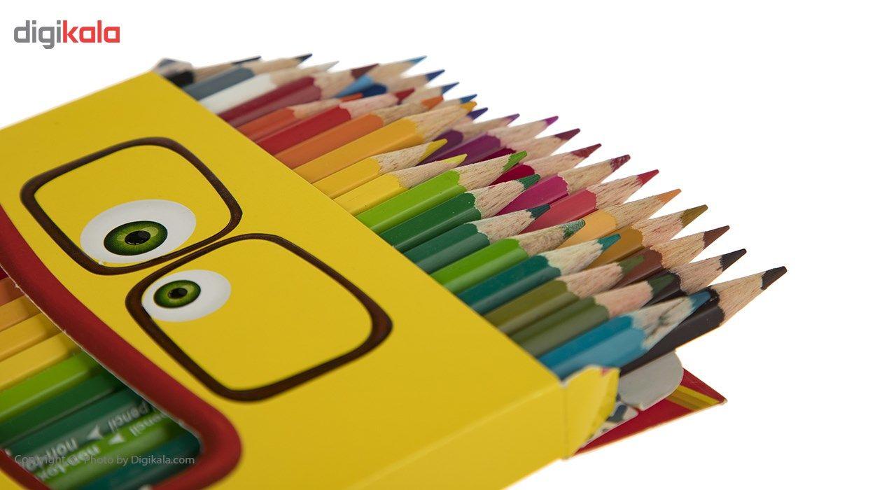 مداد رنگی 36 رنگ آریا مدل 3018 main 1 3