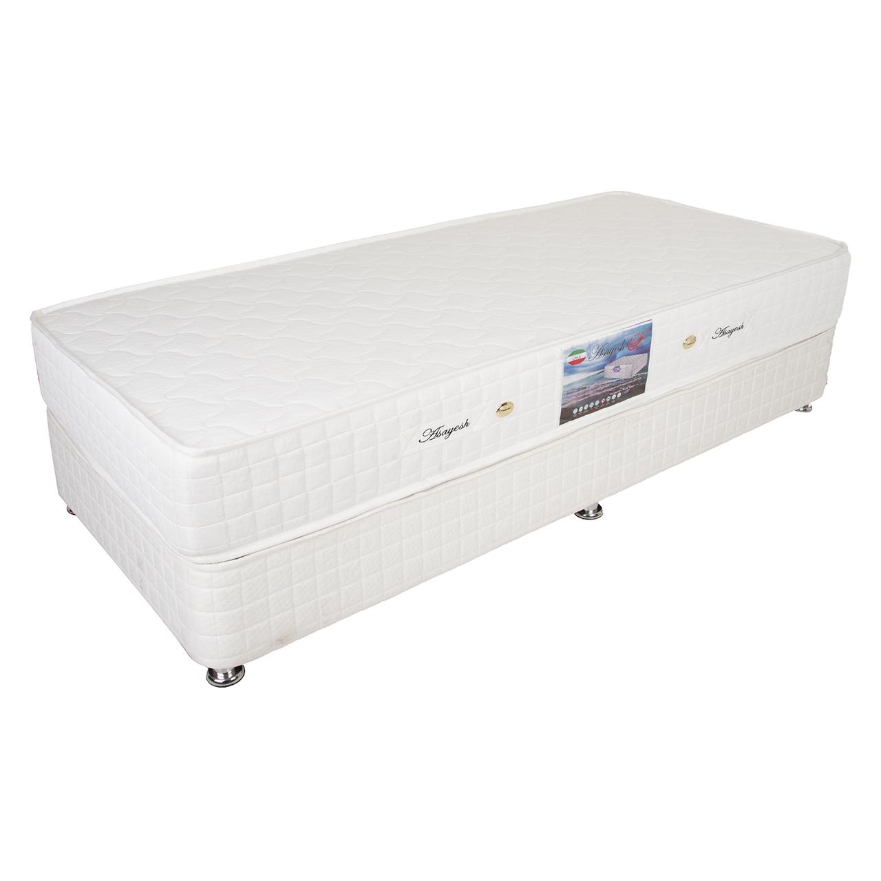 تخت خواب دو نفره آسایش کد AB85