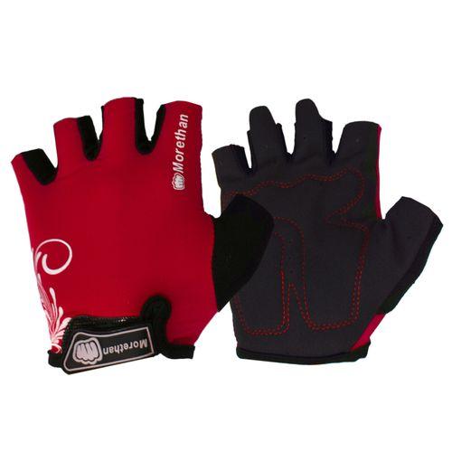 دستکش ورزشی زنانه موردن مدل 2 رنگ قرمز