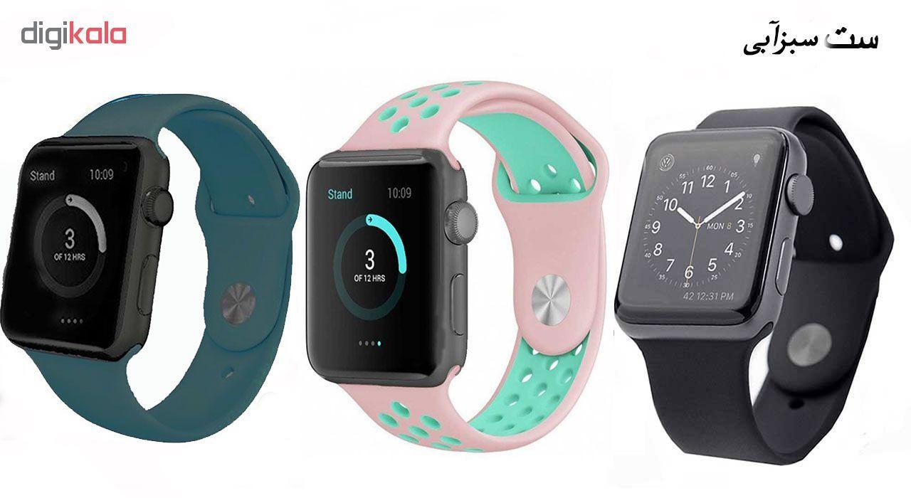 ساعت هوشمند مدل  iWO-s  همراه دو بند اضافه نایک و محافظ صفحه نمایش و بگ شیدتگ main 1 19
