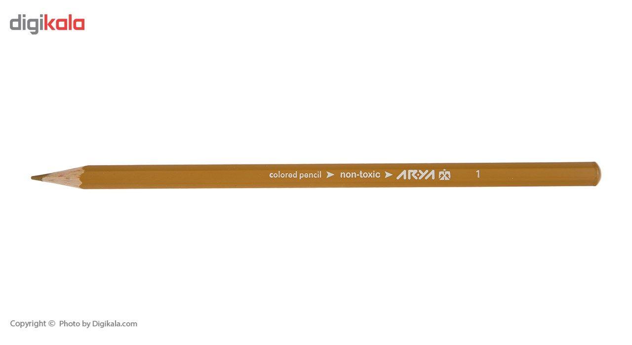 مداد رنگی 36 رنگ آریا مدل 3018 main 1 4