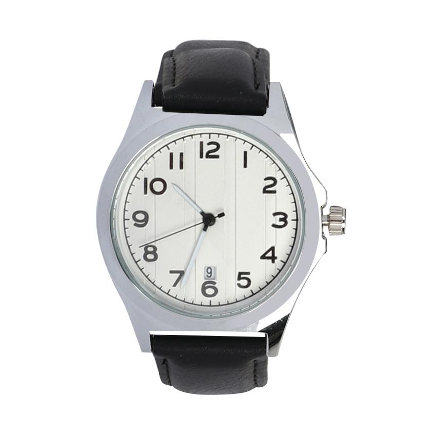 ساعت مچی عقربه ای مردانه می تینا مدل M-315 رنگ سفید