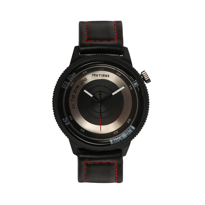 ساعت مچی عقربه ای مردانه می تینا مدل M-866 رنگ مشکی