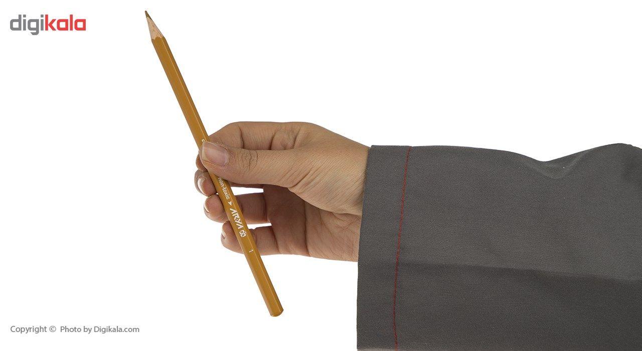 مداد رنگی 36 رنگ آریا مدل 3018 main 1 5