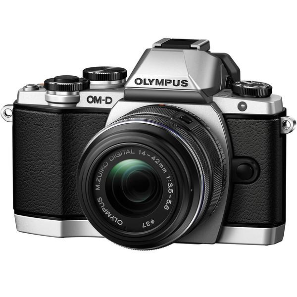 دوربین دیجیتال الیمپوس مدل OM-D E-M10 with 14-42mm Lens