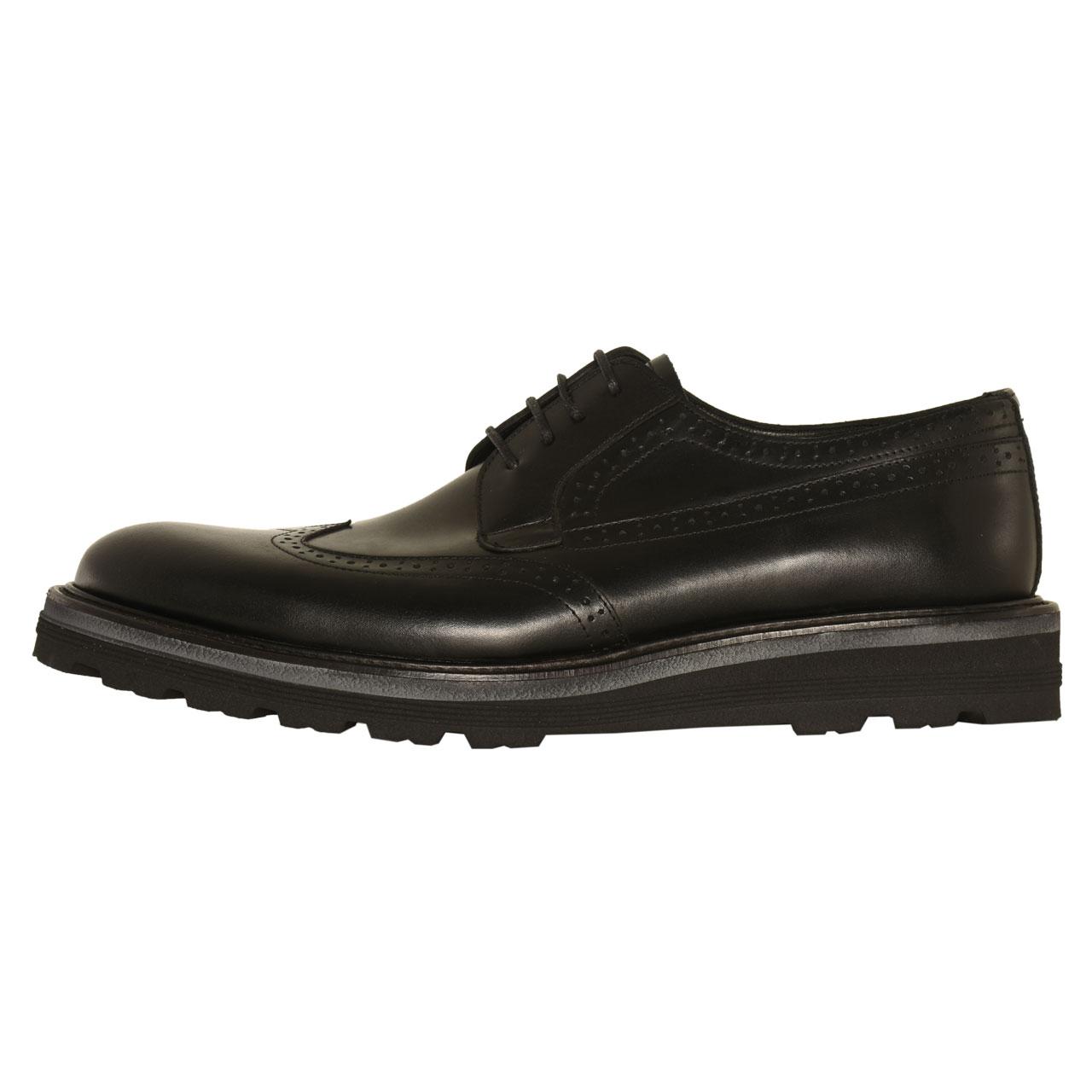 کفش مردانه کهن چرم مدل SHO115