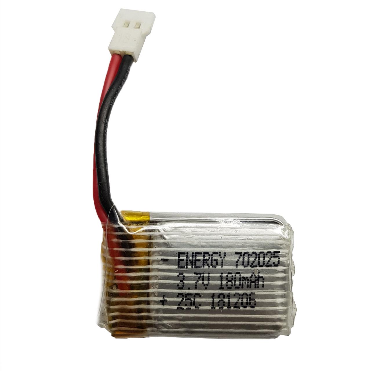 باتری لیتیومی مدل HP-702025 ظرفیت 180 میلی آمپر ساعت