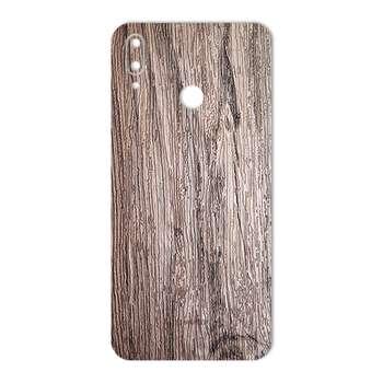 برچسب پوششی ماهوت طرح Walnut-Texture مناسب برای گوشی موبایل هوآوی Y9 2019