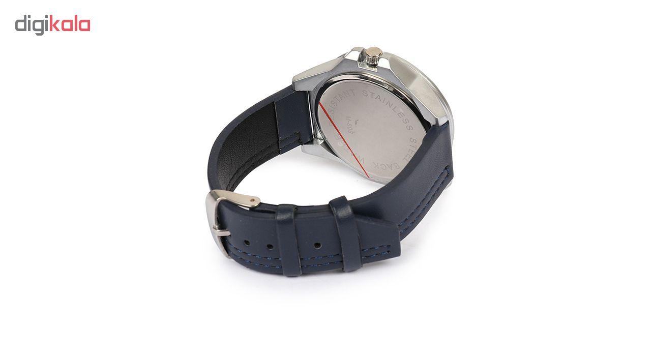 خرید ساعت مچی عقربه ای مردانه می تینا مدل M-806 رنگ سرمه ای