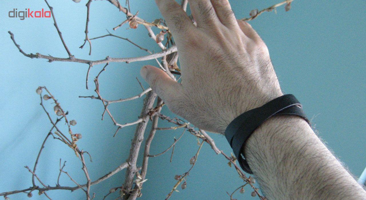 دستبند چرم گاوی دانوب مدل پرستو کد 001