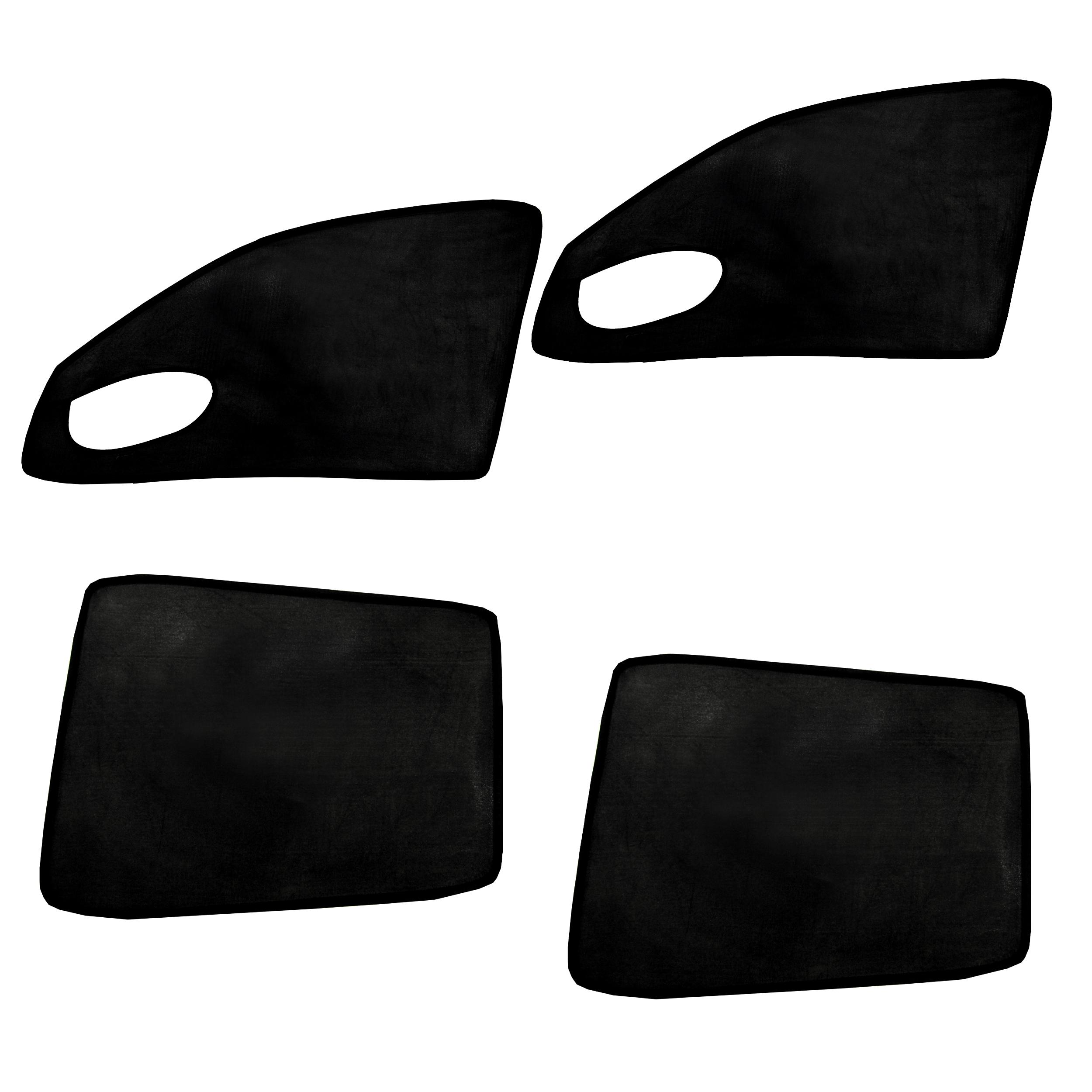 آفتابگیر شیشه خودرو مناسب برای سمند، سورن و دنا بسته 4 عددی