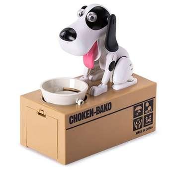 قلک مدل سگ سکه خور