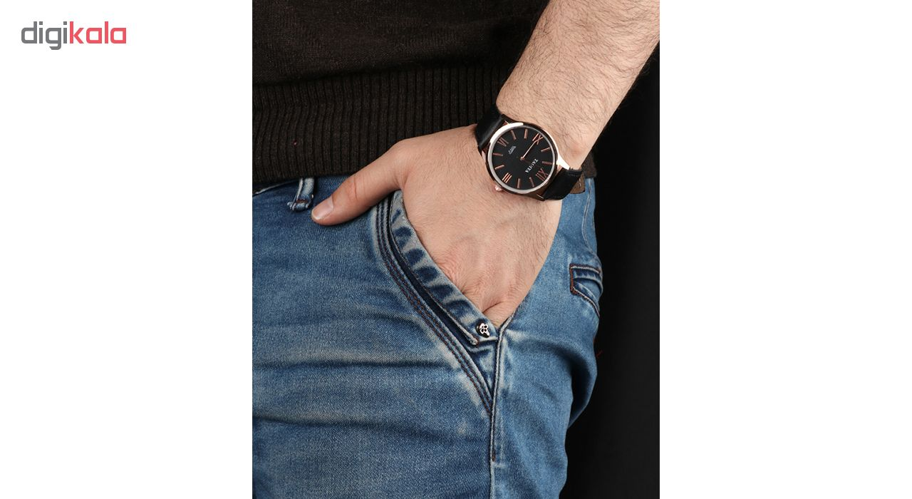 خرید ساعت مچی عقربه ای مردانه تاکیا مدل 1171-2 رنگ مشکی
