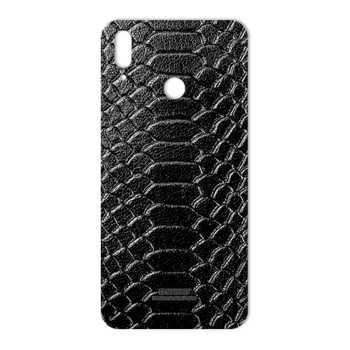 برچسب پوششی ماهوت طرح Snake-Leather مناسب برای گوشی موبایل هوآوی Y9 2019