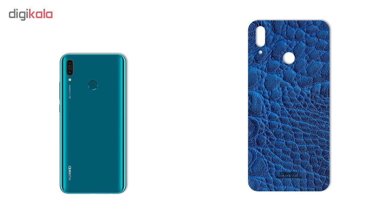 برچسب پوششی ماهوت طرح Crocodile-Leather مناسب برای گوشی موبایل هوآوی Y9 2019 main 1 2