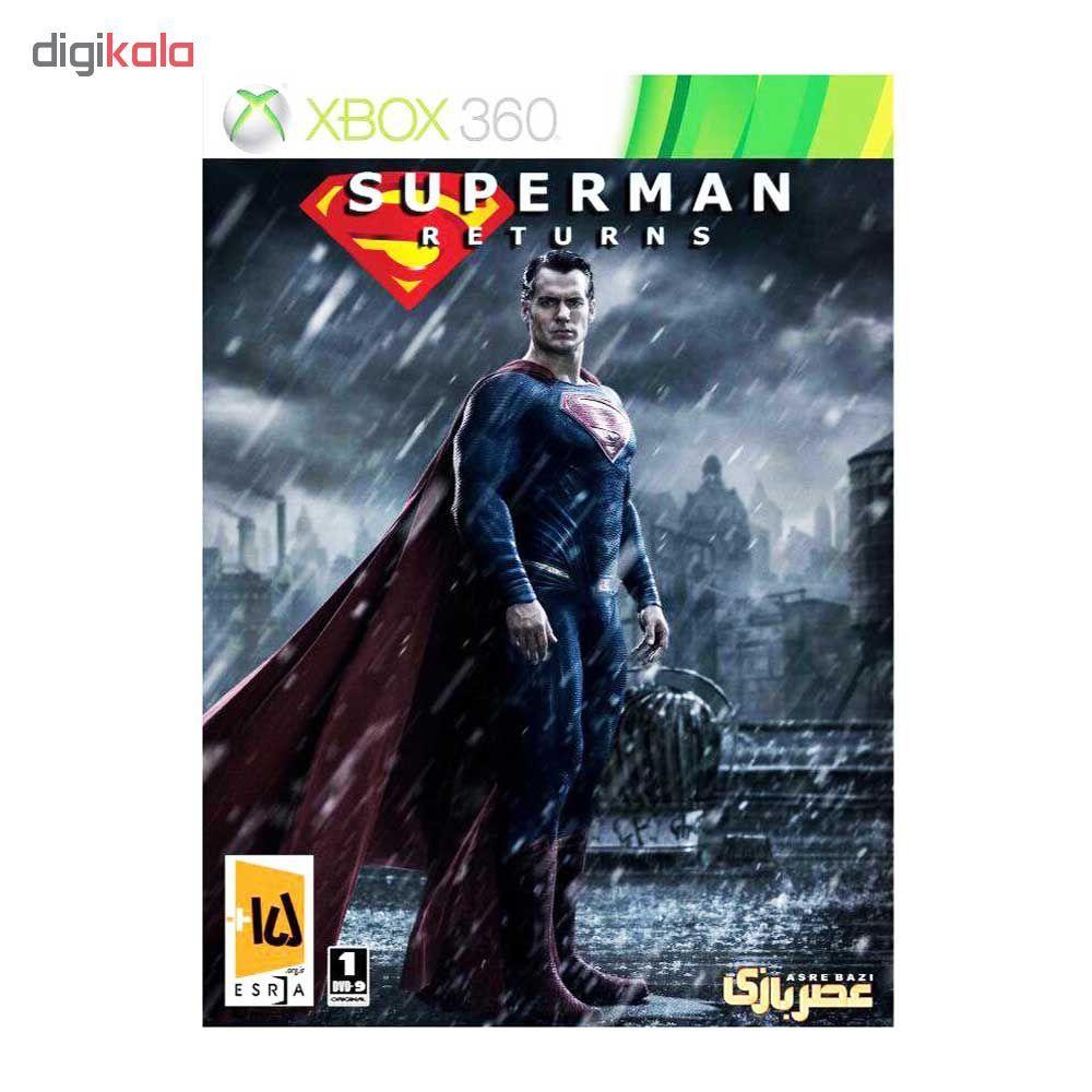 بازی Superman Returns مخصوص xbox 360  main 1 1