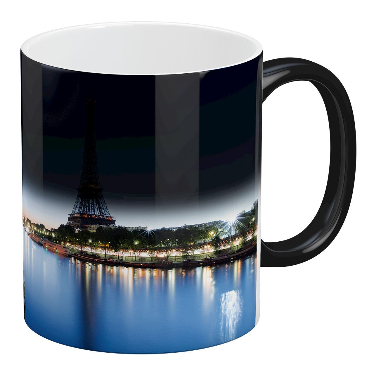 ماگ حرارتی آبنبات رنگی طرح پاریس - برج ایفل  کد ARM0250