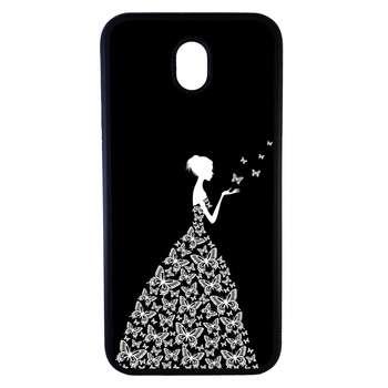 کاور طرح دخترانه کد 7500 مناسب برای گوشی موبایل سامسونگ galaxy j3 pro