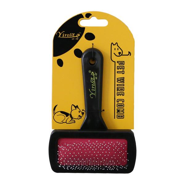 شانه سگ و گربه یینگت مدل Pet Color Comb R