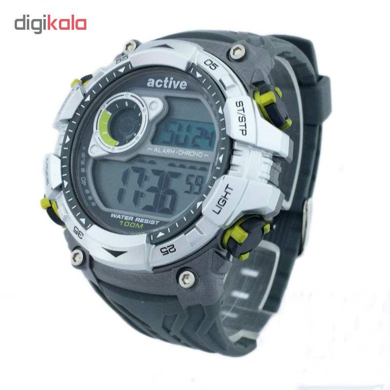 کد تخفیف                                      ساعت مچی دیجیتال مردانه اکتیو مدل YP16701/TO