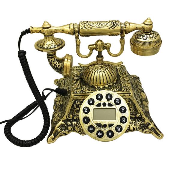 تلفن کلاسیک برنجی کد 01