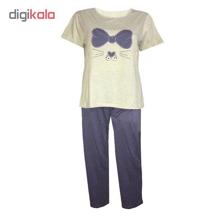 خرید                                      ست تی شرت و شلوار راحتی زنانه برند سیتی بیوتی مدل 1-23860
